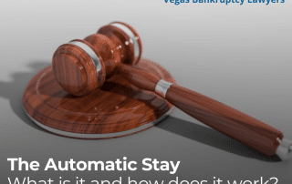 The Automatic Stay — What is it and how does it work?