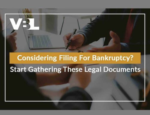 Considering Filing For Bankruptcy? Start Gathering These Legal Documents